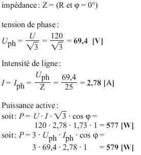 Calcul de puissance en triphasé pdf